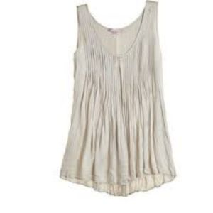 CALYPSO St. Barth Darra Pleated Silk Tank top S